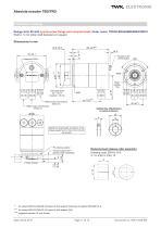 Rotary encoder TRD - 11