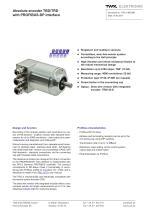 Rotary encoder TRD - 1