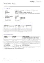 Rotary encoder TRD - 3