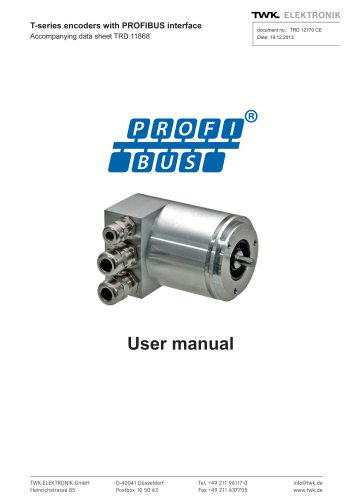 Rotary encoder TRD manual