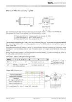 Rotary encoder TRD manual - 8