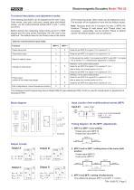 Rotary encoder TRE50 - 5