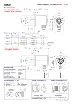 Rotary encoder TRE50 - 6