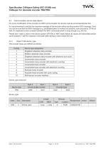 Rotary encoder TRN58/C3 manual - 11