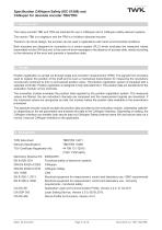 Rotary encoder TRN58/C3 manual - 5