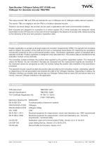Rotary encoder TRN58/S4 SIL2 manual - 5