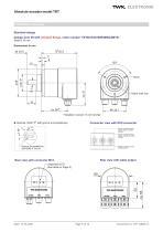 Rotary encoder TRT - 9