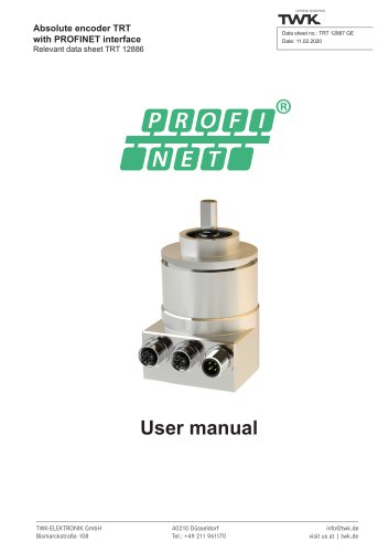 Rotary encoder TRT manual