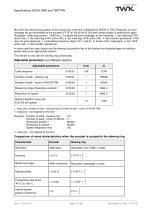 Switching cam encoder NOCN/S3 SIL2/PLd manual - 9