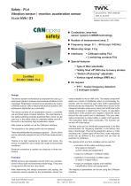 Vibration sensor NVA/S3 PLd - 1