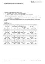 Vibration sensor NVA system description - 11
