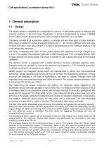 Vibration sensor NVA system description - 5