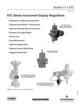 67C Series Instrument Supply Regulator