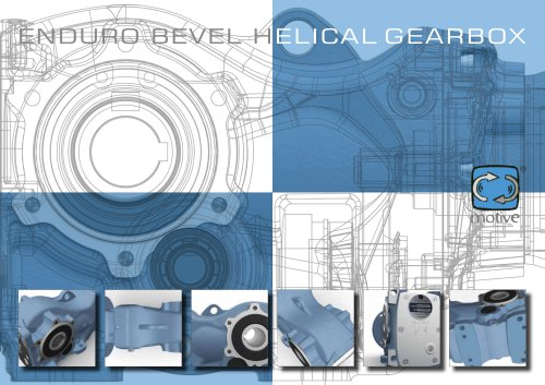 ENDURO bevel helical gearbox