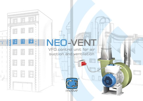 NEO-VENT - control unit for air suction and ventilation