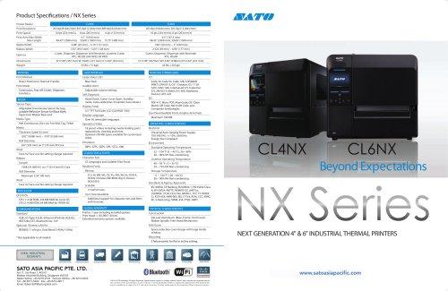 CLNX Series Brochure