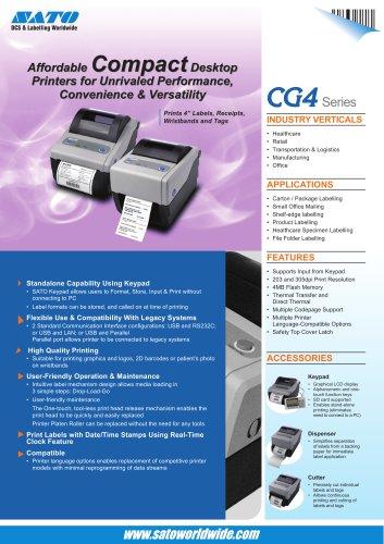 Thermal Desktop Printer CG4