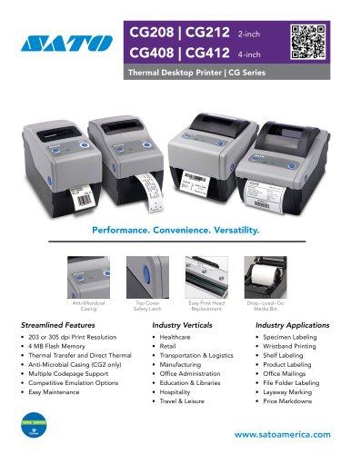 CG2 | 2-Inch Thermal Desktop Printer