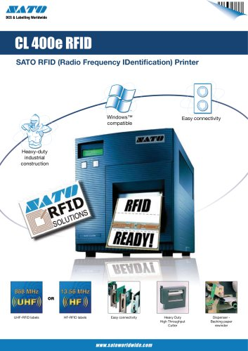 CL4 RFID printer