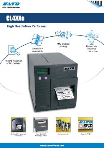 CL4 serie printer