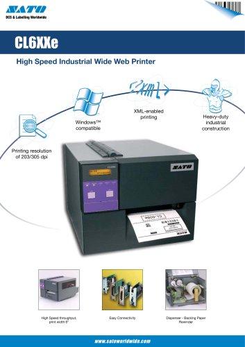 CL6 serie printer