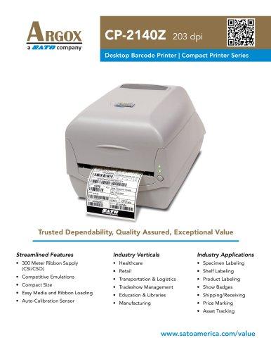 CP-2140Z | Value Thermal Desktop Printer