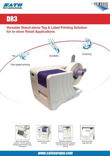DR3 serie printer