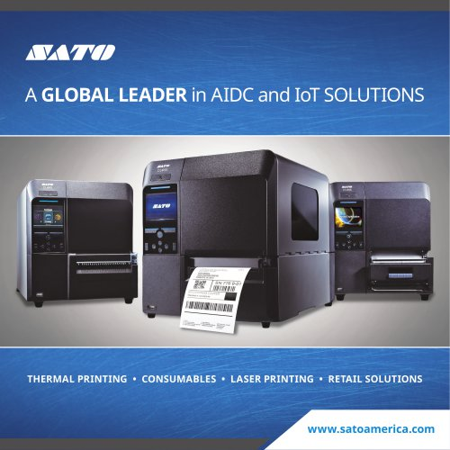 A GLOBAL LEADER in AIDC and IoT SOLUTIONS