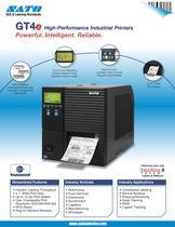 GTe4 serie printer - 1