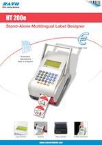 HT200e printer - 1
