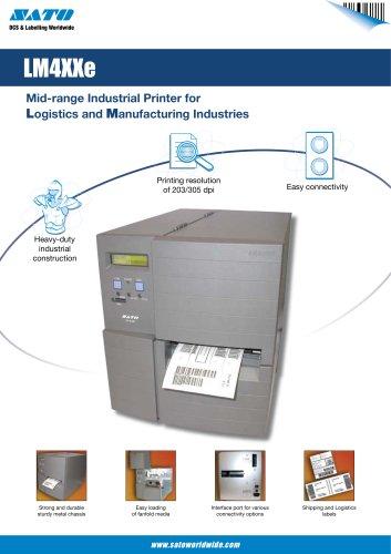 LM4 serie printer