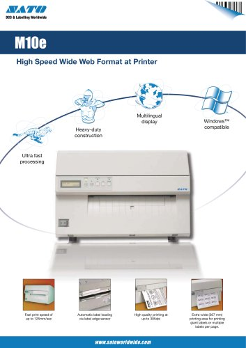 M10e printer