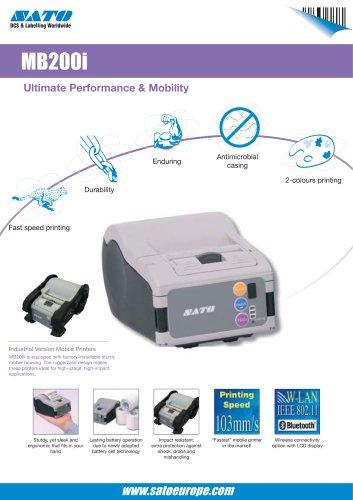 MB200i serie printer
