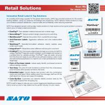 SATO Product Catalog 2013 - 10