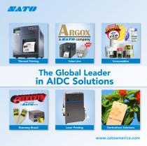 SATO Product Catalog 2013 - 1