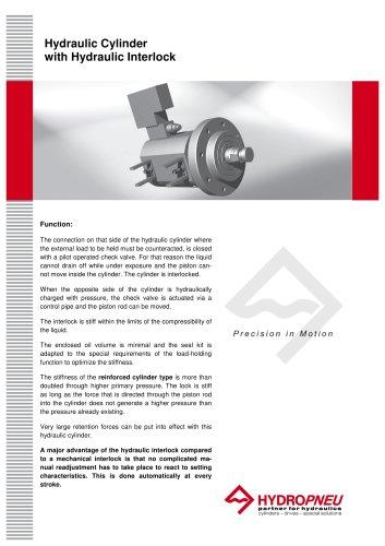 Special Cylinders · Hydraulic Cylinder with Hydraulic Interlock