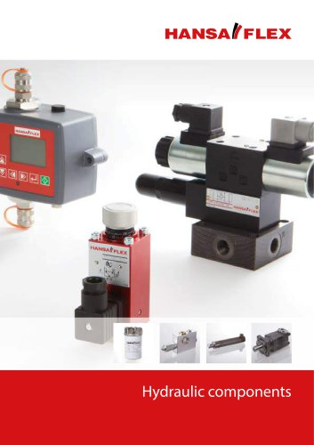 Catalogue Hydraulic components