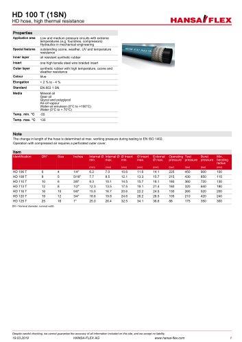 HD 100 T (1SN)