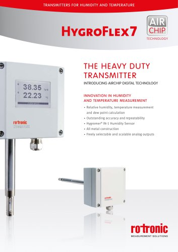 HygroFlex7 - The heavy duty Transmitter