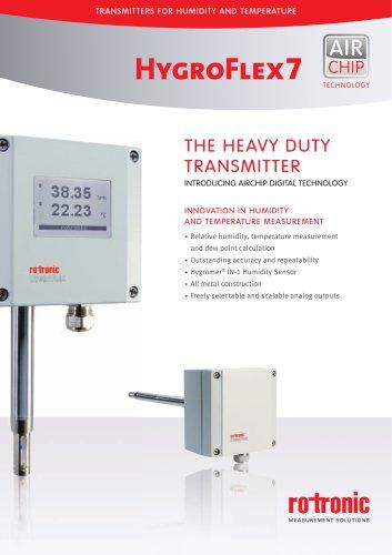 HygroFlex7 Transmitter