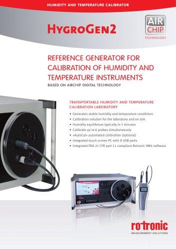 HygroGen2 Humidity Generator
