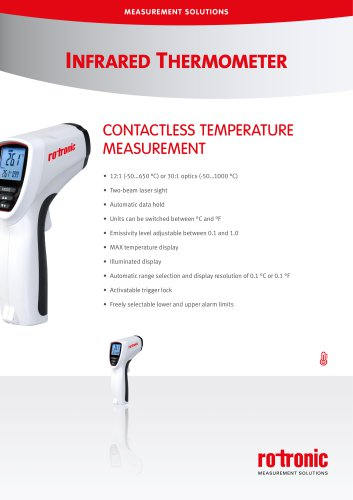 TP31-IR Infrared Thermometer