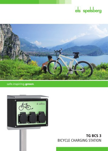 Bicycle Charging Station TG BCS