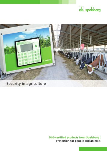 Security in agriculture