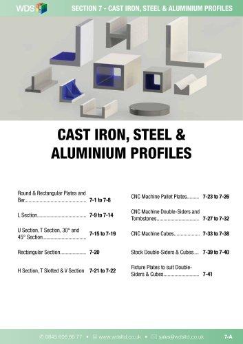 WDS CAST IRON STEEL & ALUMINIUM PROFILES