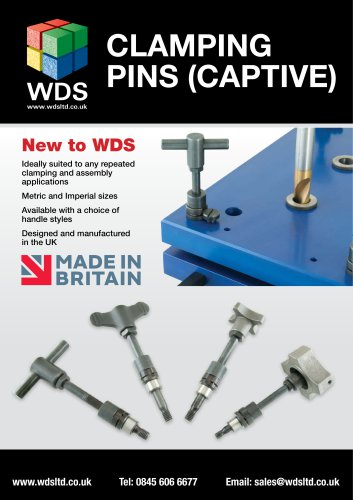 WDS Clampng Pins Captive