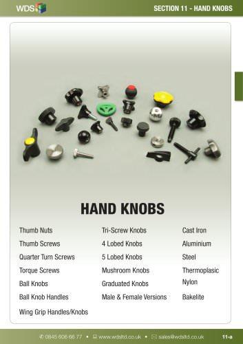 WDS Hand Knobs