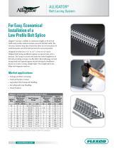 Alligator® Conveyor Belt Lacing Fastener System - 1