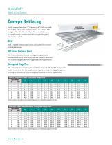Alligator® Conveyor Belt Lacing Fastener System - 2