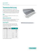 Alligator® Conveyor Belt Lacing Fastener System - 3